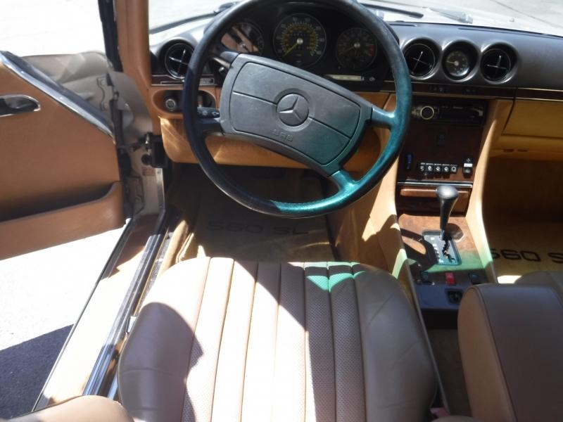 Mercedes-Benz 560SL 1987 price $19,900