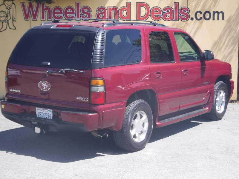 GMC Yukon Denali 2006 price $9,999