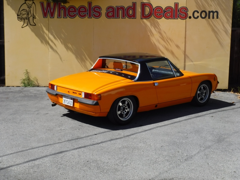 Porsche 914 1974 price $25,000