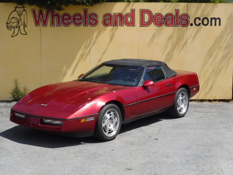 Chevrolet Corvette 1990 price $8,500