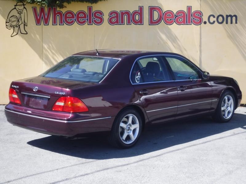 Lexus LS430 2002 price $6,800