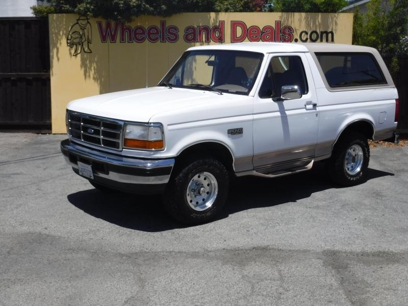 Ford Bronco 1996 price $21,000