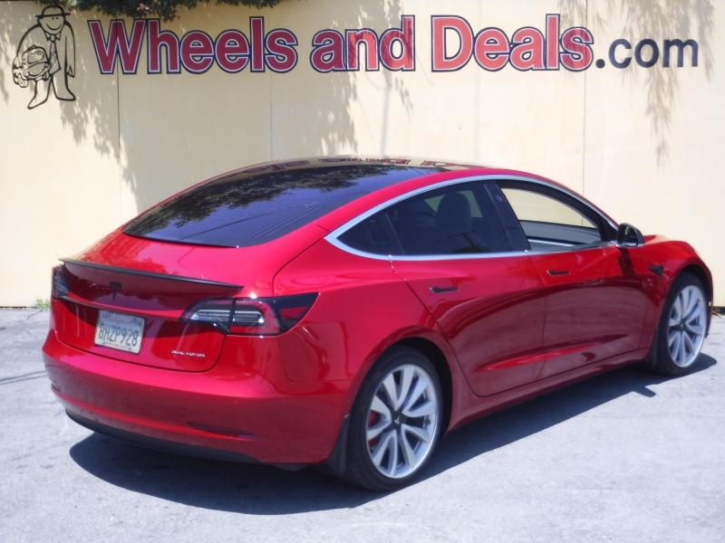 Tesla Model 3 2018 price $54,000