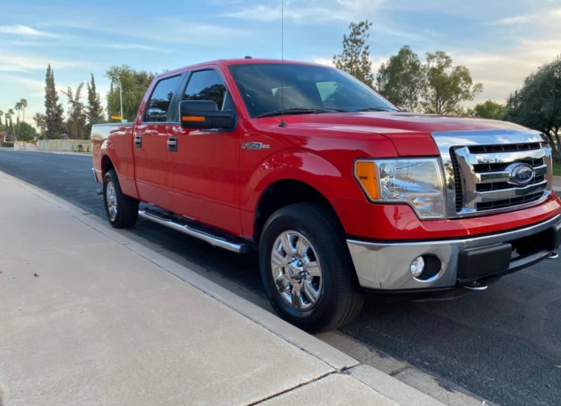 Ford F-150 XLT (4WD) 2012 price $14,995