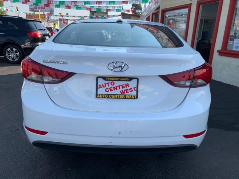 Hyundai Elantra 2016 price $10,495