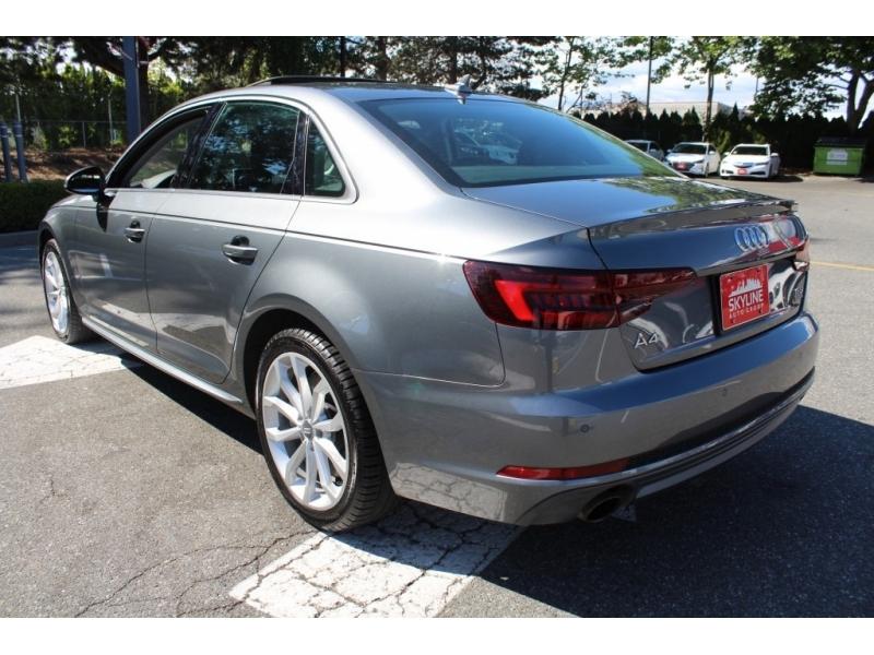 Audi A4 Sedan 2018 price Call for Pricing.