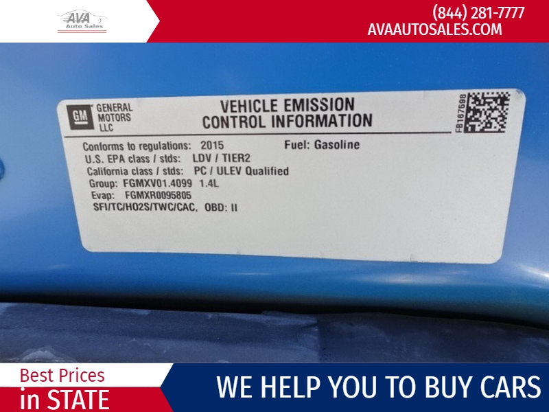 Chevrolet Trax 2015 price $7,995