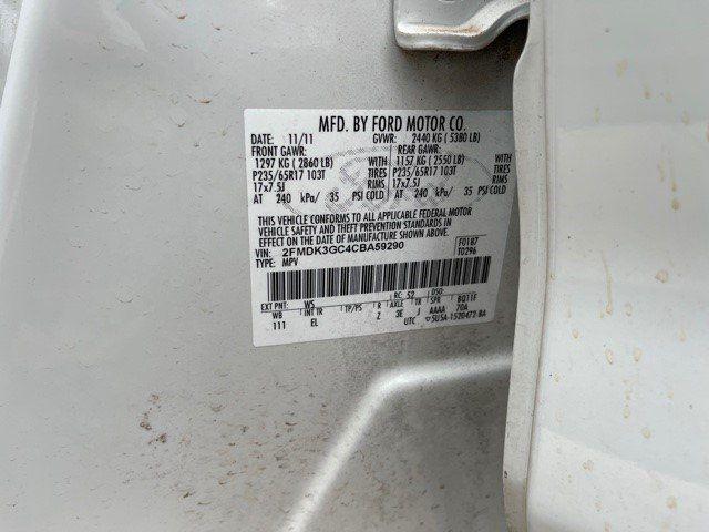FORD EDGE 2012 price $6,995