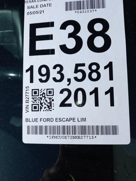 FORD ESCAPE 2011 price $6,999