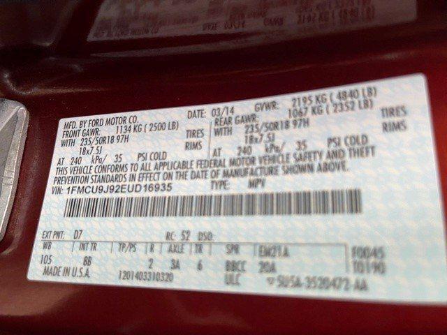 FORD ESCAPE 2014 price $11,595