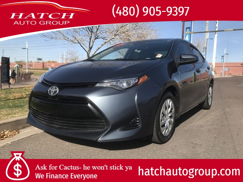 Toyota Corolla LE 1.8L 4-Cylinder (CVT) 2017 price $12,593