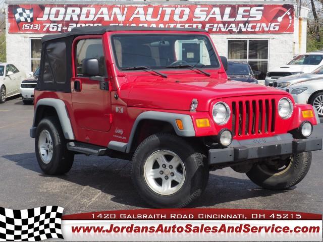 Jeep Wrangler 2006 price $14,995