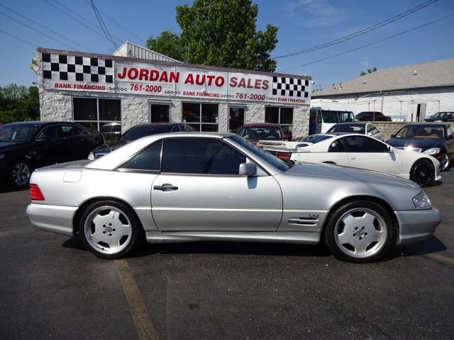 Mercedes-Benz SL-Class 1998 price $19,995