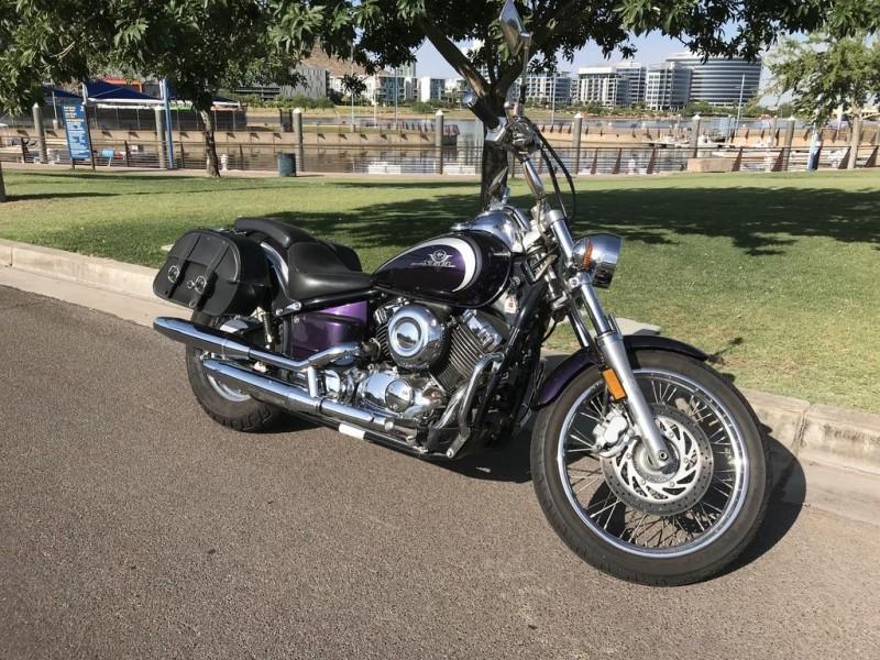 YAMAHA V-STAR XVS650 2002 price $3,999