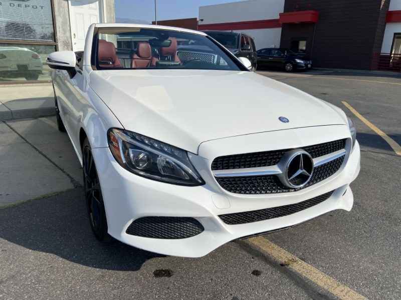 MERCEDES-BENZ C-CLASS 2017 price $37,500