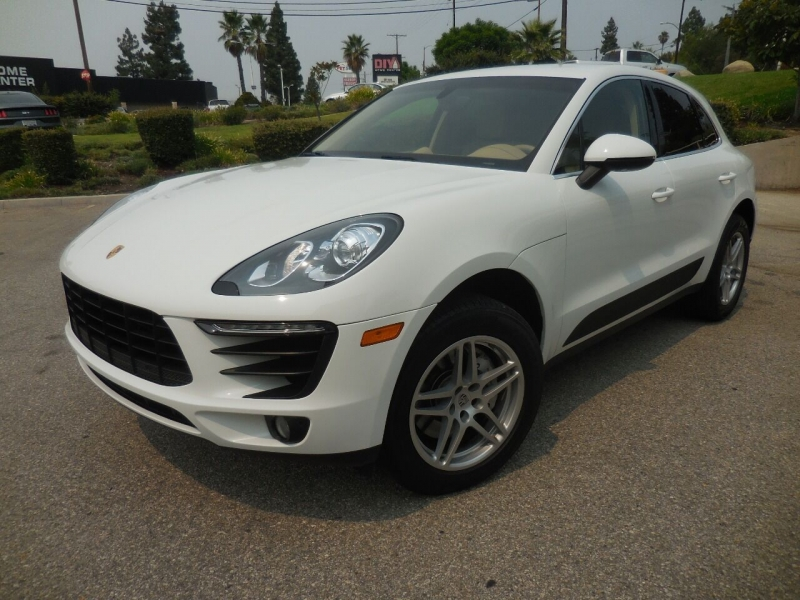 Porsche Macan 2015 price $38,995