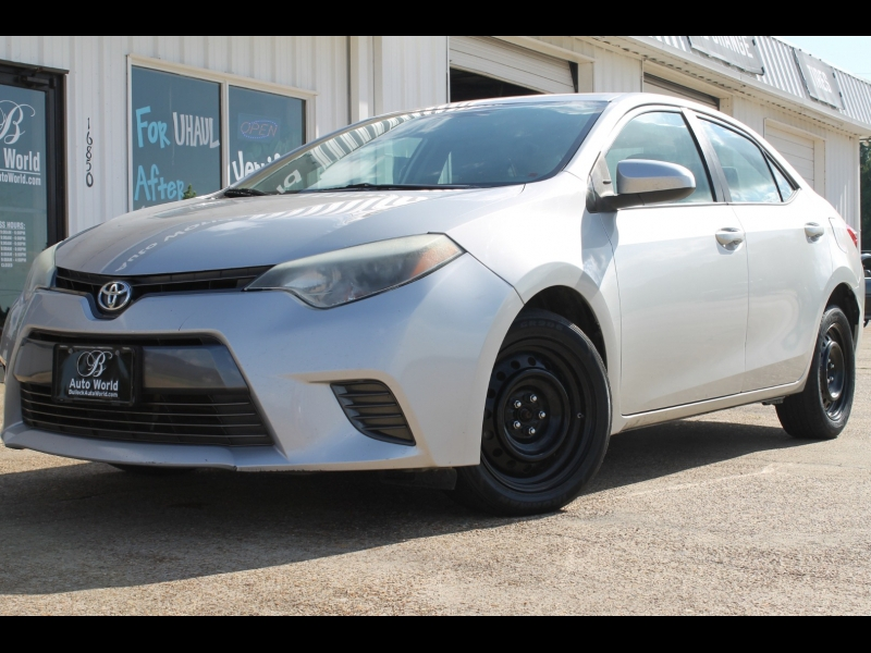 Toyota Corolla 2015 price $11,995