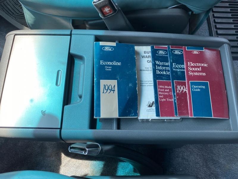 Ford E-Series Cargo 1994 price $8,276