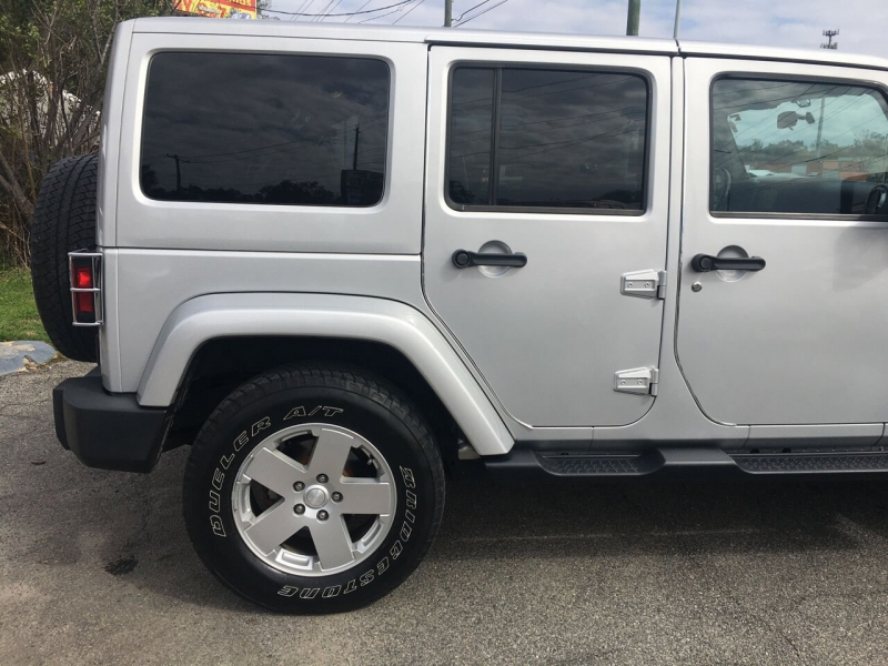 Jeep Wrangler Unlimited 2011 price $21,014