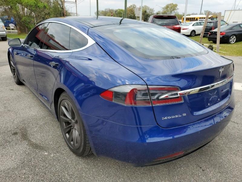 Tesla Model S 2016 price $47,621
