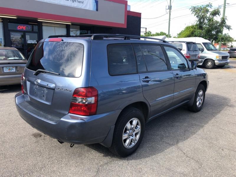 Toyota Highlander 2005 price $8,166