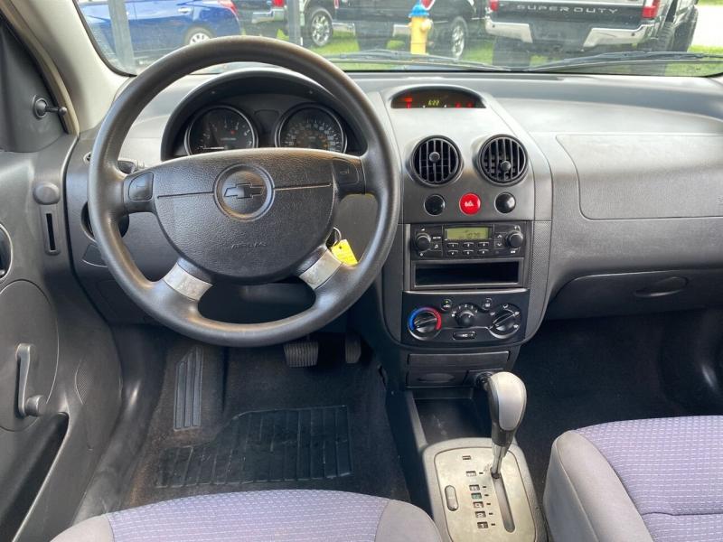 Chevrolet Aveo 2007 price $4,700