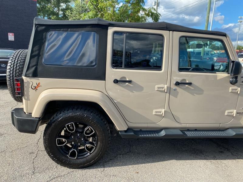 Jeep Wrangler Unlimited 2016 price $31,800