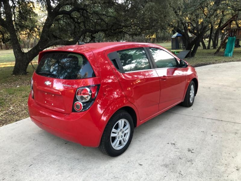 Chevrolet Sonic 2013 price $4,995