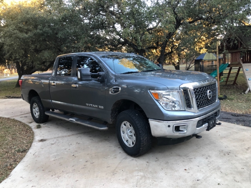 Nissan Titan XD 2017 price $34,900