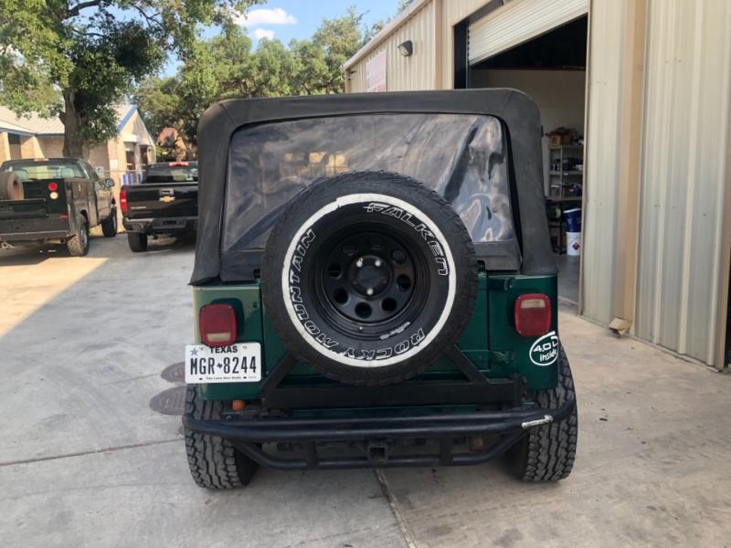 Jeep Wrangler 1993 price $0