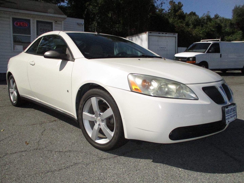 2008 Pontiac G6 2dr Conv Gt Haker Auto Sales Inc Dealership In Elkridge