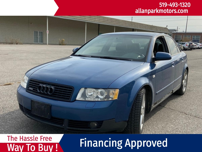 Audi A4 2003 price $1,477