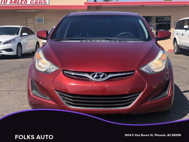 Hyundai Elantra 2014 price $6,995