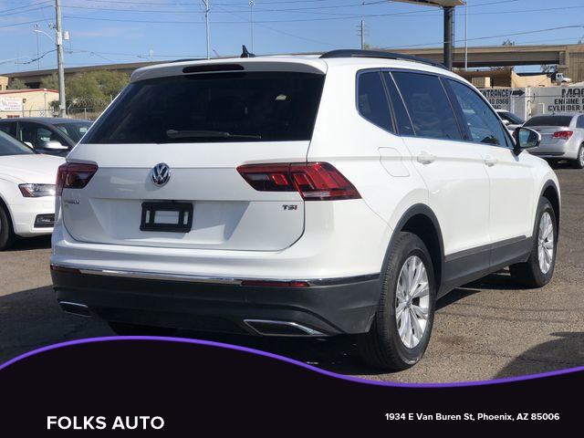 Volkswagen Tiguan 2018 price $14,595