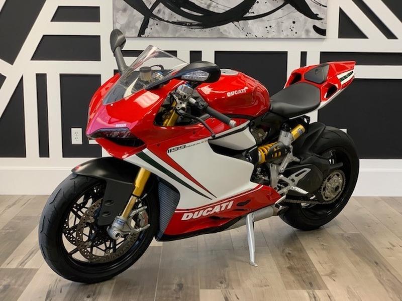 Ducati 1199 S Tricolore 2012 price $12,988
