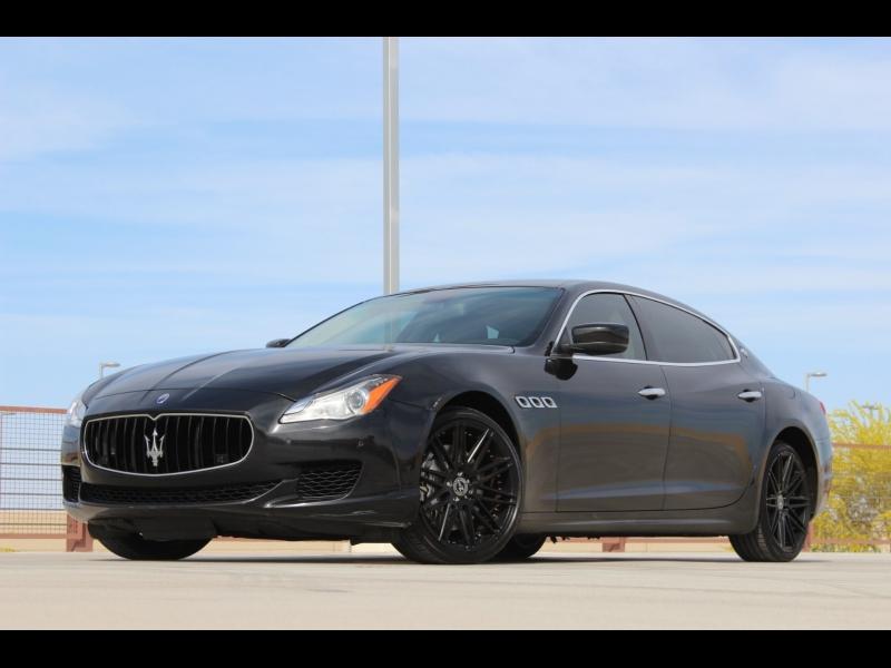 Maserati Quattroporte S Q4 2014 price $31,988