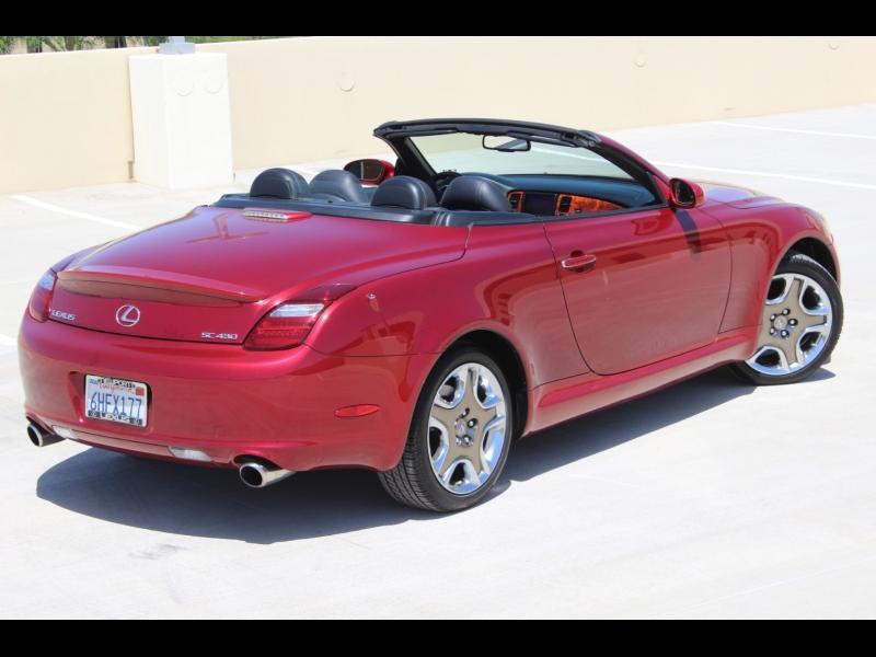 Lexus SC 430 2006 price $21,988