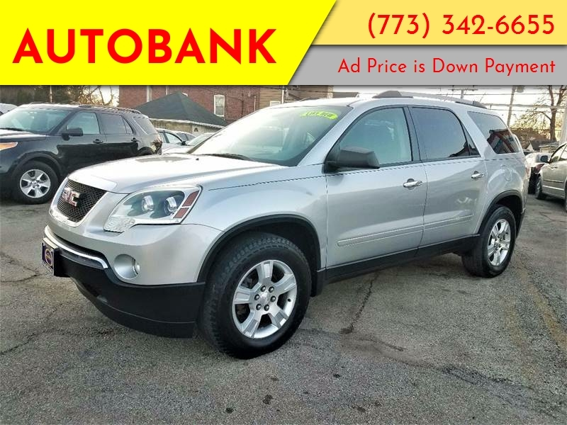GMC Acadia 2012 price $2,000 Down