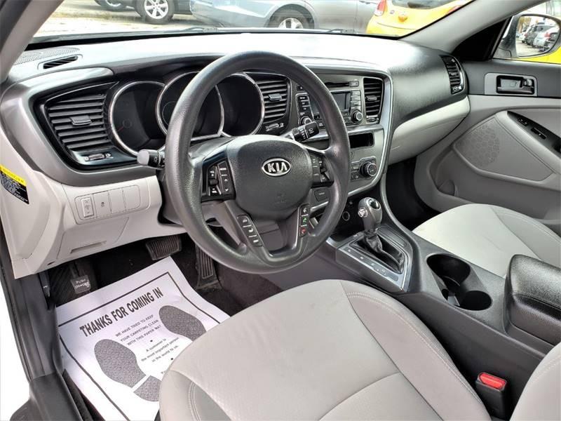 Kia Optima 2012 price $1,000