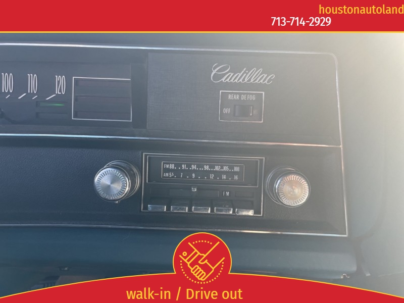 CADILLAC CALAIS CPE 1972 price $8,995