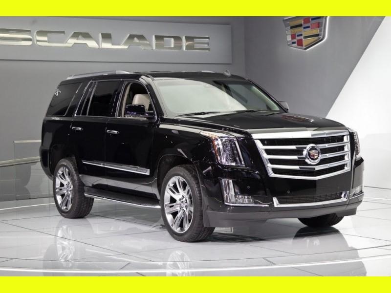 Cadillac Escalade 2014 price $0