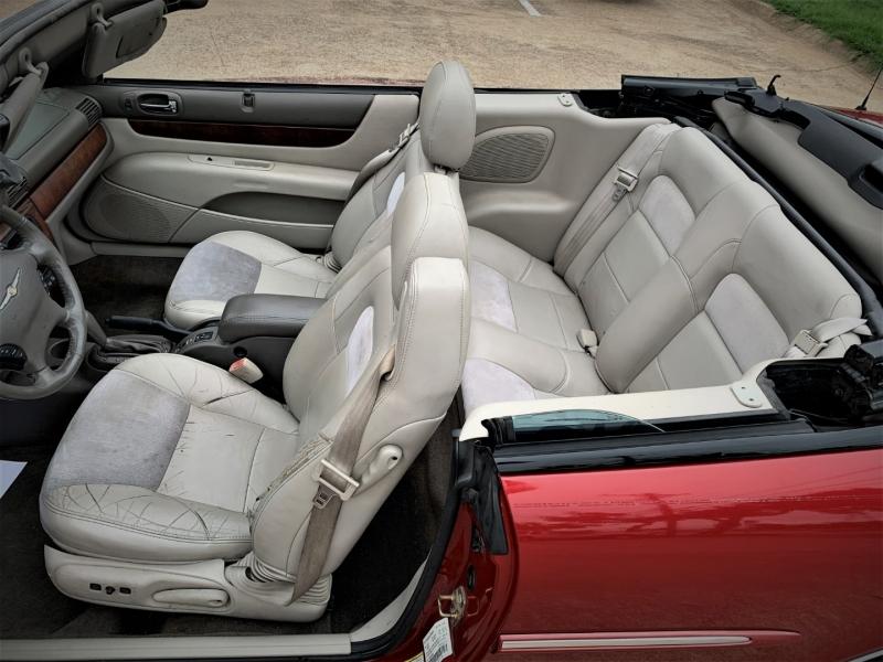 Chrysler Sebring Conv 2005 price $2,400