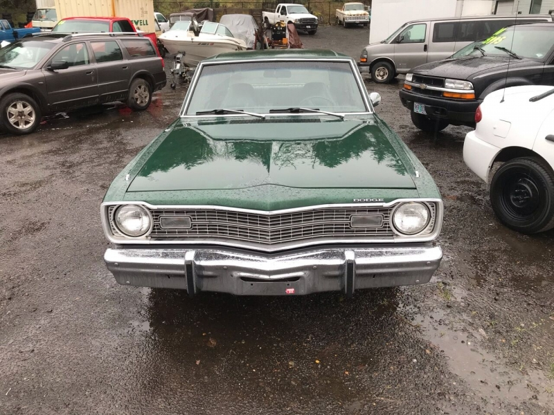 Dodge Dart 1974 price $6,950