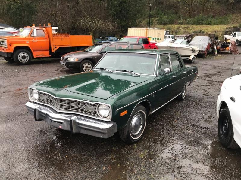 Dodge Dart 1974 price $5,950