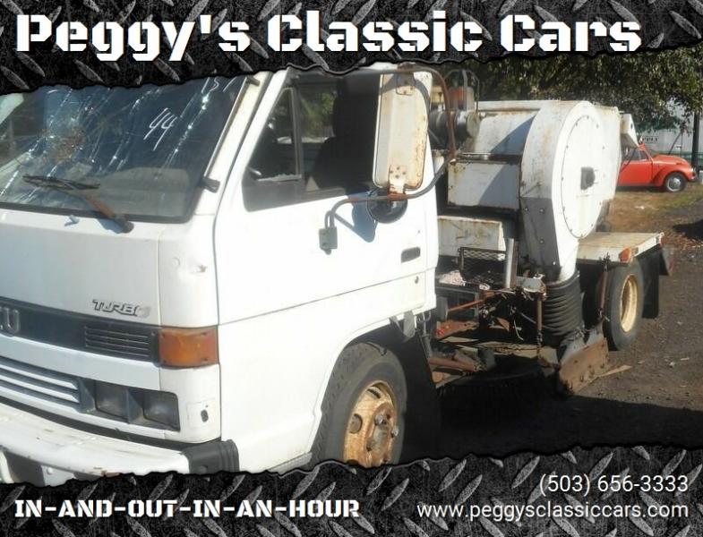 Isuzu Diesel Motor Sweeper 1993 price $695