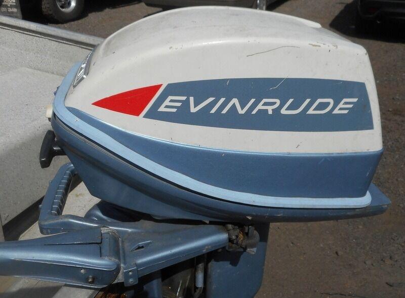 Evinrude 12 1999 price $1,395
