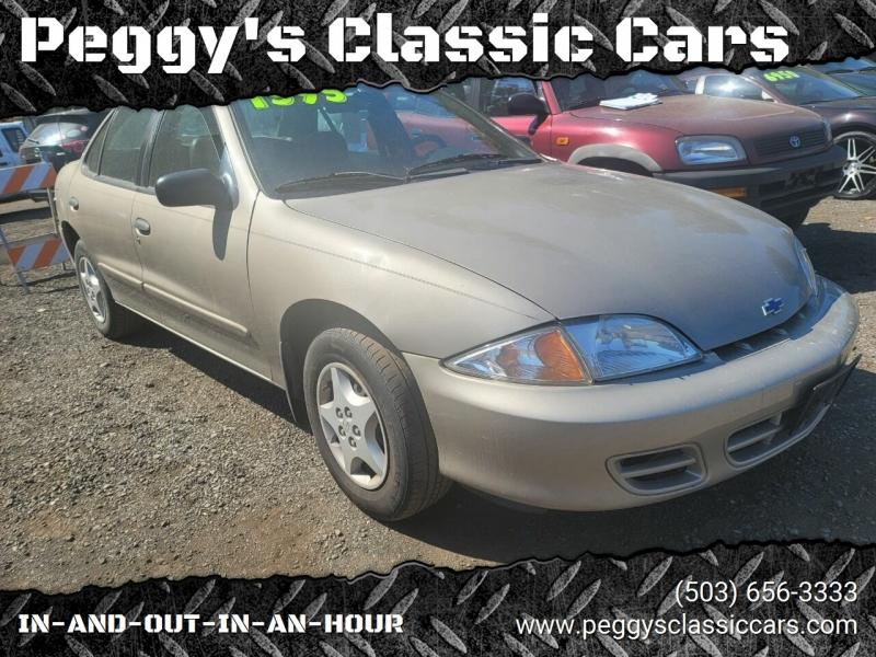 Chevrolet Cavalier 2002 price $1,595