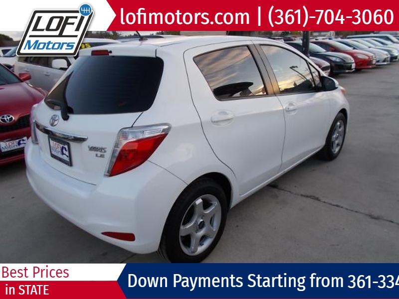 Toyota Yaris 2014 price $12,495