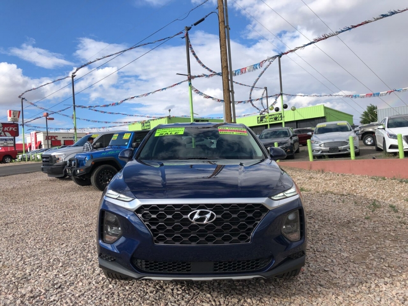 Hyundai Santa Fe 2019 price Call for Pricing.
