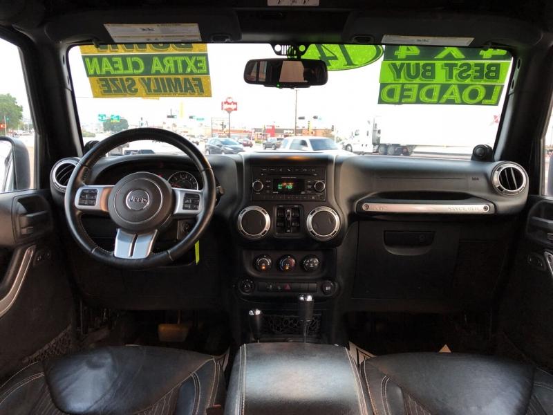 Jeep Wrangler Unlimited 2014 price